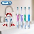 Зубная щетка Oral B Cross Action power Dual Clean, гигиена полости рта, батарея AA, электрическая зубная щетка, 3 шт. сменные насадки, бесплатная доставка