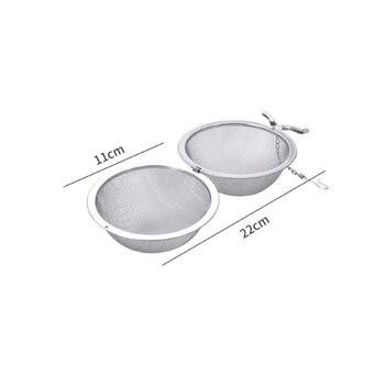 Infuseur à thé en acier inoxydable, 5 tailles 10