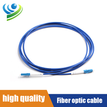 1 pcs 3-1000 Meter Fiber Optic Waterproof LC UPC Armored Patch Lead Cable Outdoor Jumper 1-24 Cores Can Be Customized