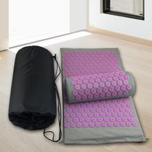 Cushions Pillow Yoga-Mats Acupressure Massager Spike-Mat Anti-Slip Home with Back-Pain