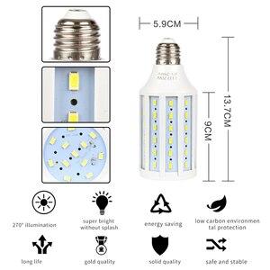 Image 5 - Zestaw oświetlenia Softbox profesjonalne Studio sprzęt ciągły z 20W LED 5500K E27 podstawka lampy do fotografii