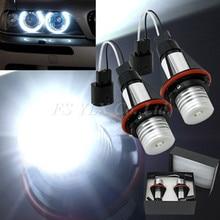 цена на led marker light for bmw angel eye xenon white led angel eyes halo light bulb no error for bmw e39 e83 x3 (06-10) e53 x5 (04-06)