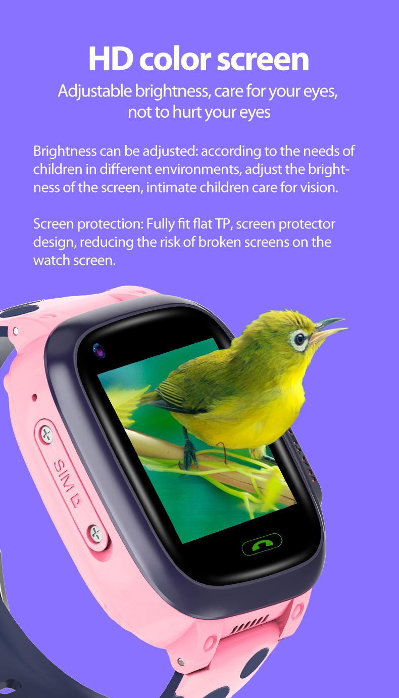 HD color screen