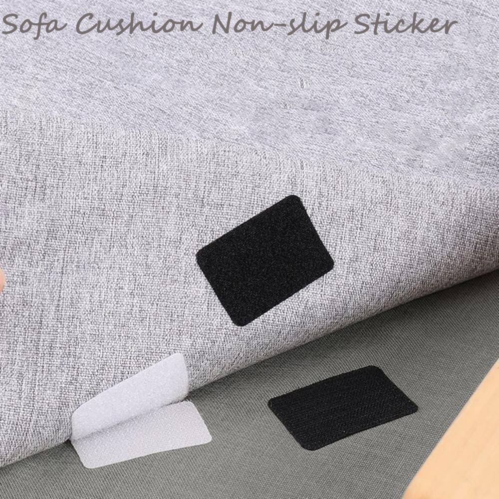 5pairs Super Sticky Magic Nylon Non-slip Sticker Square Hook Loop Fastener Adhesive Tape Loop Disks Velcros Glue Household