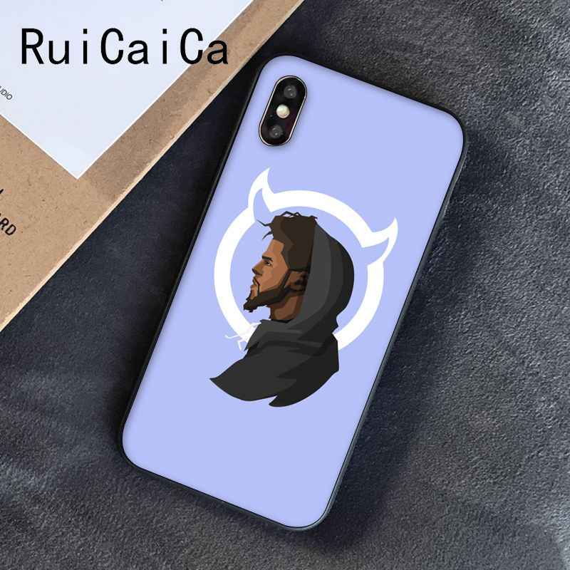 Ruicaica J Cole Born Sinner DIY Printing Drawing Phone Case for iPhone 8 7 6 6S 6Plus X XS MAX 5 5S SE XR Cover