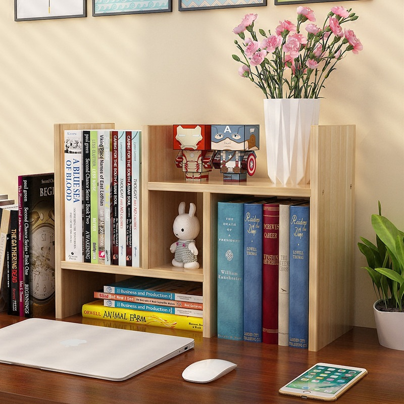 Desk Top Magazine Shelf Simple Table Shelf Simple Modern Student Bookcase Children'S Desk Desk Storage Shelf