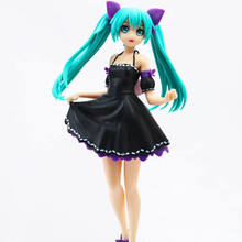 Anime Hatsune Miku Project Ver PVC Action Figure Collectible Model doll toy 23cm anime hatsune miku v4x vocal project diva pvc action figure juguetes collectible model doll kids toys 20cm