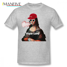 Mona Lisa T Shirt MONA LISA HYPEBEAST T-Shirt 100 Cotton XXX Tee Mens Streetwear Short Sleeves Graphic Cute Tshirt