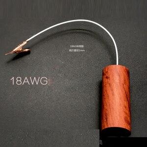 Image 4 - Câble Audio HiFi boucle de terre isolateur de bruit GND trou noir éliminer lélectricité statique purificateur de puissance électronique