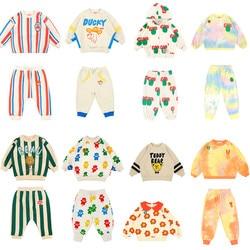 Комплекты детской одежды для маленьких мальчиков 2020, весенний комплект повседневной одежды для младенцев, корейский бренд, одежда для мале...