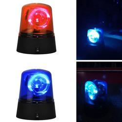 Novidade Azul Girando Disco Party DJ Luz Da Lâmpada Luzes LED Farol Do Carro Da Polícia