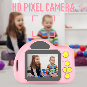 New X7 Photography Full Color Mini Camera for Children Kid Cute Camcorder Video Child Cam Recorder Digital Camcorders Blue Pink