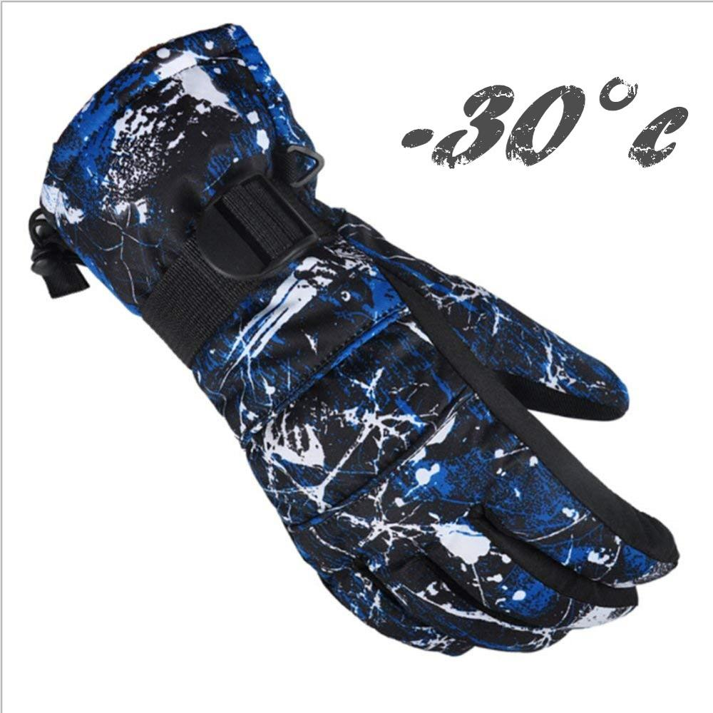 Ski Gloves Winter Thermal Waterproof Windproof Snowboard Gloves Fit Snow Skating Motorcycle Snowmobile Riding For Men Women Kids