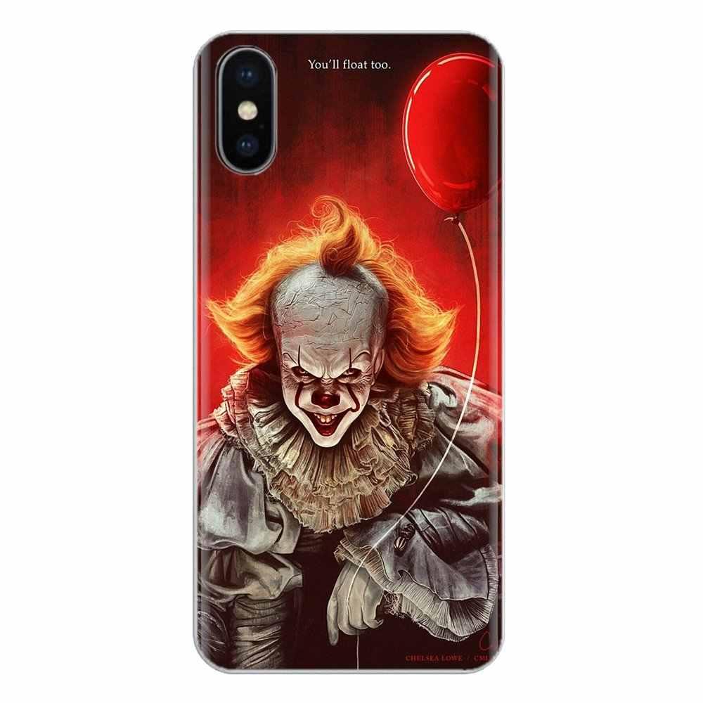 Silikon Telefon Shell Abdeckung Für iPod Touch Für Apple iPhone 11 Pro 4 4S 5 5S SE 5C 6 6S 7 8 X XR XS Plus Max Stephen King s Es