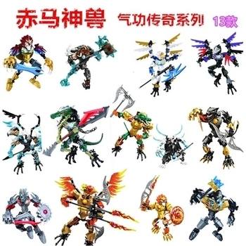 Chima Speedorz Series Animal Super Heroes Figure Combination Robot Qigong Legendary Building Blocks Toy For Children Gifts image