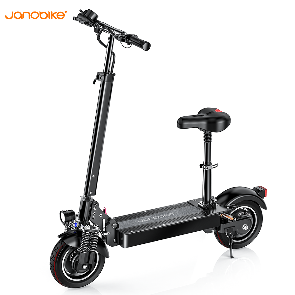 Janobike 2020 Upgrade Hydraulic Brake Electric Scooter All Aluminum Alloy Kick Scooter 2000W 70km/h Electical Scooter Electic