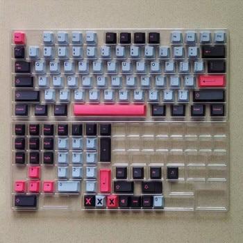 118 Keys/set 8008 Keycaps Cherry Profile PBT Key Caps For MX Switch Mechanical Keyboard Dye Sublimation Key Cap