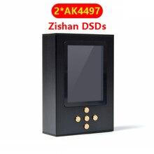 Zishan DSDs Dual AK4497 المهنية ضياع مشغل موسيقى MP3 DAP HIFI الأجهزة المحمولة فك 2.5 مللي متر متوازن AK4497EQ 4497