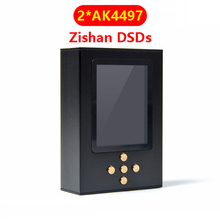 Zishan DSDs Dual AK4497 profesional sin pérdidas reproductor de música MP3 DAP HIFI Hardware portátil decodificación 2,5mm equilibrado AK4497EQ 4497