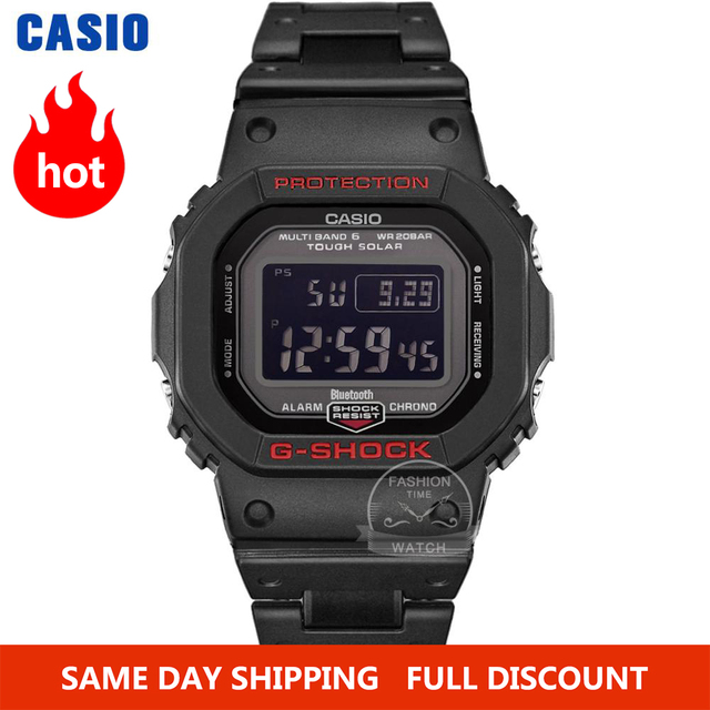 Casio smart watch men g shock top luxury Waterproof Sport Bluetooth Solar Radio controlled digital men watch relogio masculino