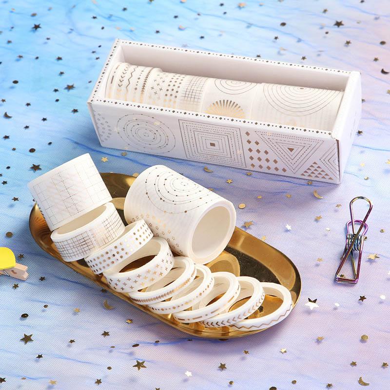 7/10Pcs Kawaii Adhesive Tape Cute Cartoon Washi Tape Decor Masking Tapes For Kids Scrapbooking DIY Supplies Creative Stationery