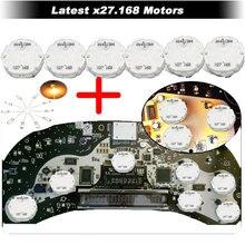 X27 168 (6 шт.) + 10 шт. лампочек шаговый двигатель для Chevy Buick Hummer GL8 парус конверсионный комплект Gokart Автомобильный спидометр приборной панели дви...