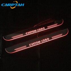 CARPTAH wykończenia pedał części zewnętrzne samochodu LED nakładka na próg ścieżka dynamicznego streamera światła dla Infiniti QX70 2013 2014 2015
