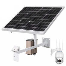 30W 60W Solar Panel DC12V 20A 30A 40A Lithium Battery for 3G 4G 5G Wireless WI-FI SIM Card IP Camera Solar CCTV Security Cameras