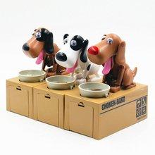 Coin-Box Money-Pot Birthday-Gifts Saving Piggy-Save Small Hot Cute Dog Can Creative Kids
