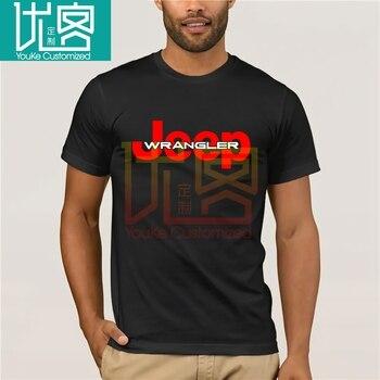 Jeep 2018 nueva camiseta de verano Sahara negro camiseta para hombre Camiseta de moda S a 3XL hombres y mujeres Phiking imprimir Tops Casuales
