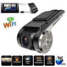 Автомобильный видеорегистратор Dash Cam ADAS 1080P Full HD видеорегистратор ночного видения Wi-Fi Обнаружение движения g-сенсор камера видеорегистраторы с TF картой