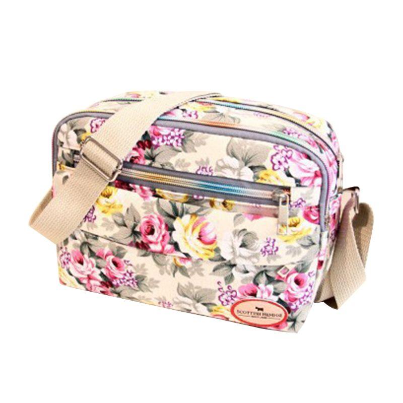 Women Canvas Handbag Shoulder Lady Cross Body Bag Tote Messenger Satchel Purse