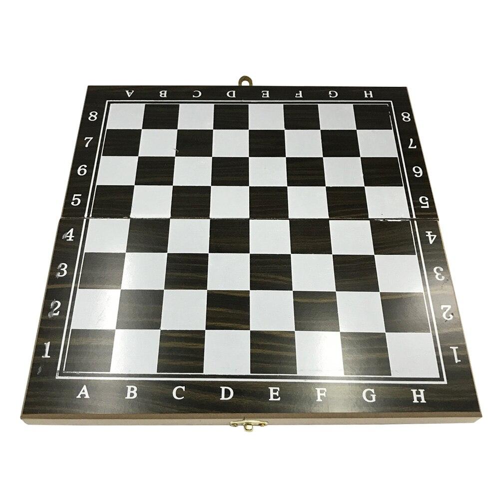 3 em 1 portátil presente xadrez damas
