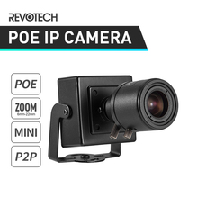 POE HD 1080P 6 22mm Manual Zoom Lens Mini Type 2.0MP Indoor IP Camera Security Camera ONVIF P2P CCTV Cam System