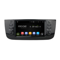 KLYDE 6.1 Android 9.0 PX6 Car Radio For FIAT LINEA 2014 2015 Deckless Multimedia Player 6 Core Audio 4+64G Stereo DVD Player