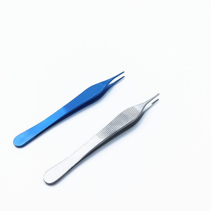 pincas de aco inoxidavel da cartilagem da cirurgia plastica nasal do titanio de 12cm