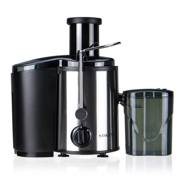 800W 220V Electric Juicer Stainless Steel Juicers Whole Fruit Vegetable Food-Blender Mixer Extractor Machine 2 Speed Adjustment 5