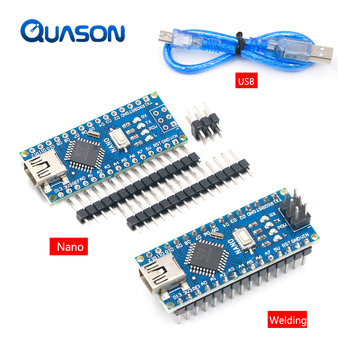 لوح تحكم متوافق مع لوح WAVGAT متوافق مع لوحة تطوير PCB بدون USB V3.0 ترويجي لـ arduino Nano 3.0 Atmega328