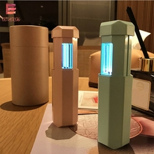 Mini Rechargable Uv lamp 365nm Sterilize Telescopic LED Ultraviolet bactericidal Light Portable Germicidal UVC Disinfection USB
