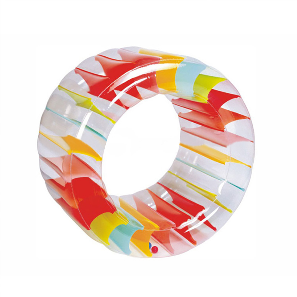 Party Inflatable Roller Summer Rolling Multifunctional Children PVC Indoor Water Toy Outdoor Crawling Pool Play Giant Land Wheel