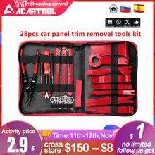 4pcs 7pcs 28pcs Hard Plastic Auto Car Radio Panel Interior Door Clip Panel Trim Dashboard Removal Set DIY Car Repair Tool Kit