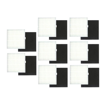 цена на 8-Pack Replacement HEPA and Sponge Filter Kit For Chuwi ILIFE V8S Robot Mop and Vacuum Cleaner ing Robot Accessories