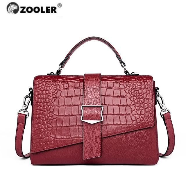 ZOOLER  Soft Genuine Leather ladies Hand Bags for Women 2020 fashion bags ladies luxury Women  Shoulder Bags Designer Handbags
