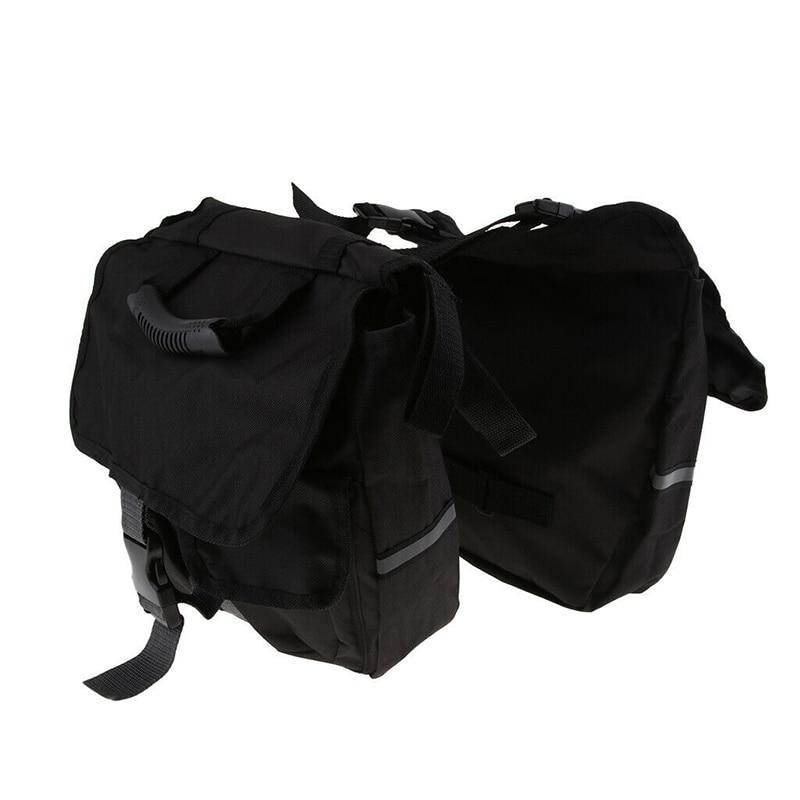Ремень седло сумка нейлон 1 шт. для мотоцикла задние двойные подштанники регулируемые