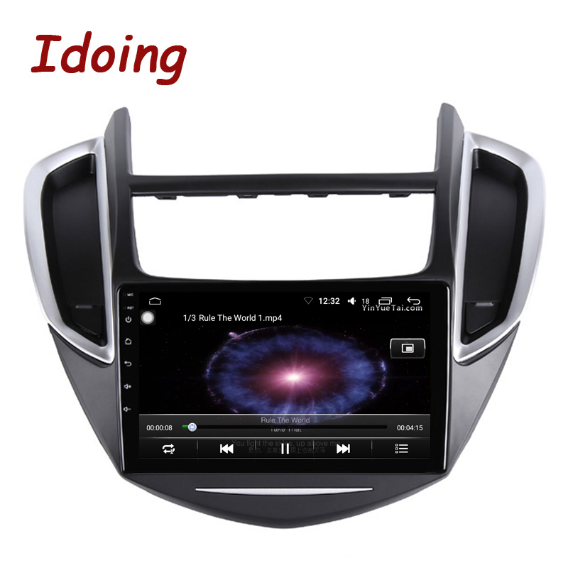 """Image 3 - Idoing 9""""2.5D IPS Car Android Radio Multimedia Player For CHEVROLET TRAX 2014 2016 4G+64G Octa Core GPS Navigation no 2 dinCar Multimedia Player   -"""