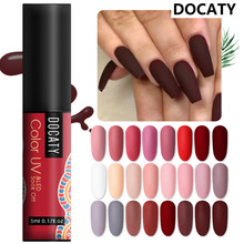 Docaty Hybrid Nagellack Paniting Gellak Gel Farbe Nail art Set Acryl Gel Nagellack Farben Gel Malerei UV/ LED Farbe(China)