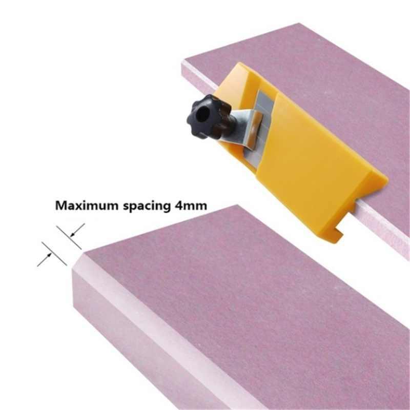 Гипсовая доска инструмент для обрезки квадратной круглой сухой стены фаска ручной инструмент для дерева