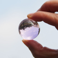 Ornaments Decoration Globe-Ball Crystal Photography Sphere Fengshui-Lens Wedding-Decor