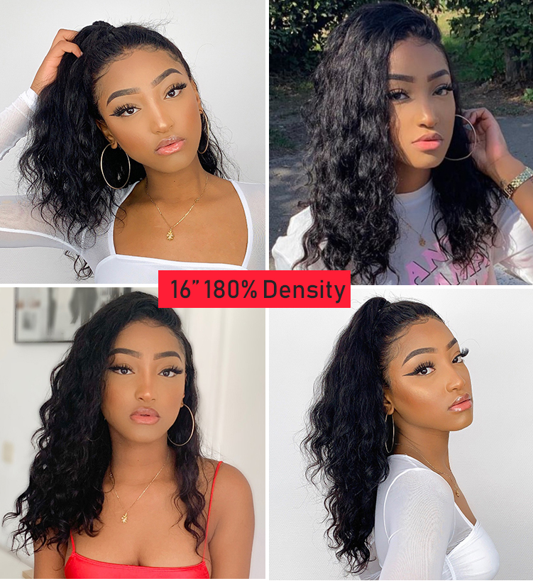 Natural Wave BOB Wig Brazilian Hair13x6 Lace Front Human Hair Wigs 150% Density ALIPOP Remy Lace Front Wig Pre Plucked Lace Wig