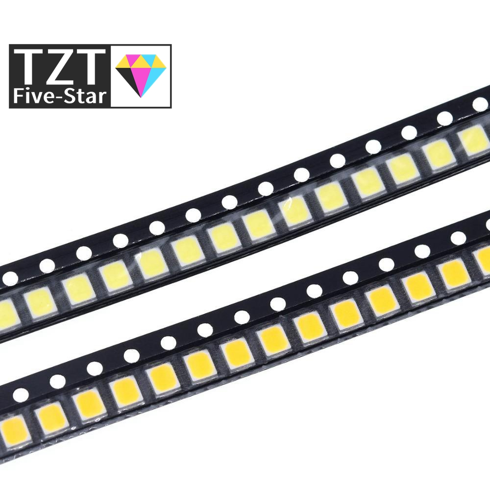 200 шт 0,2 W SMD 2835 Светодиодный светильник шарик 20-25lm белый/теплый белый SMD СВЕТОДИОДНЫЙ бусины светодиодный чип DC3.0-3.6V для всех видов светодиодн...